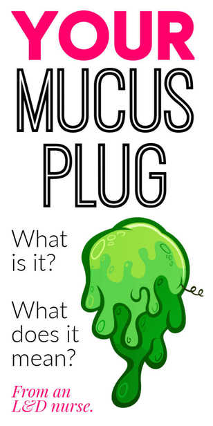 What does losing your mucus plug mean? via @pullingcurls