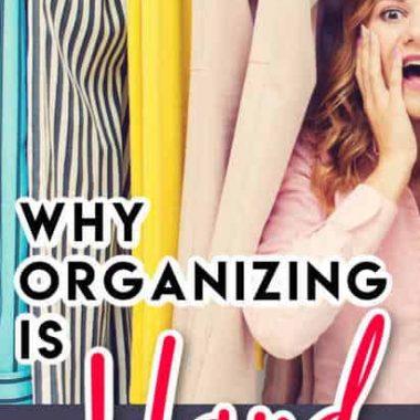 Why Organizing Is Hard