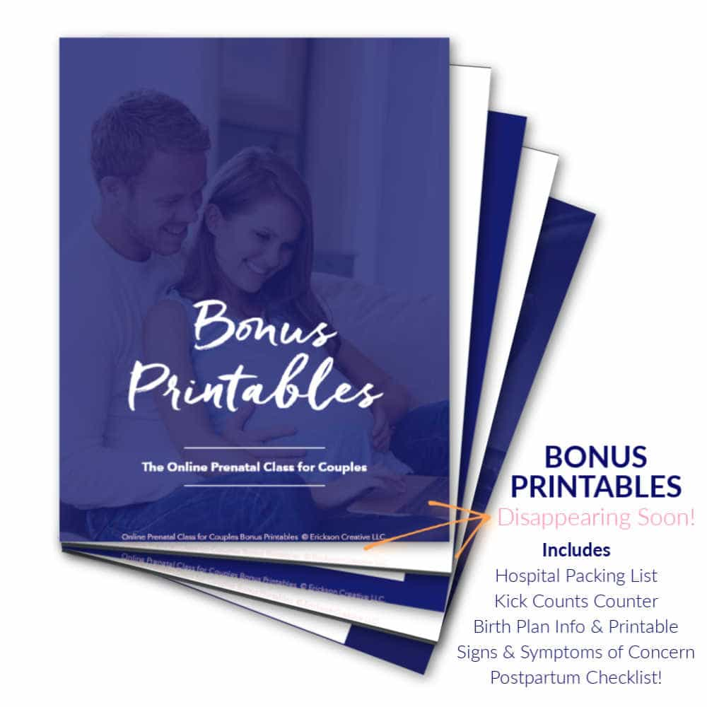 bonus printables