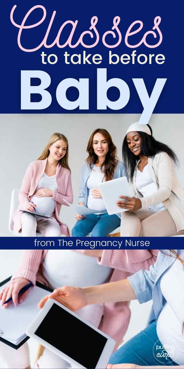 What kind of hospital, prenatal, childbirth, tours, breastfeeding, newborn care, hypnobabies classes should you take before delivery? via @pullingcurls