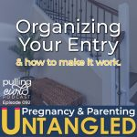 organizing your entry