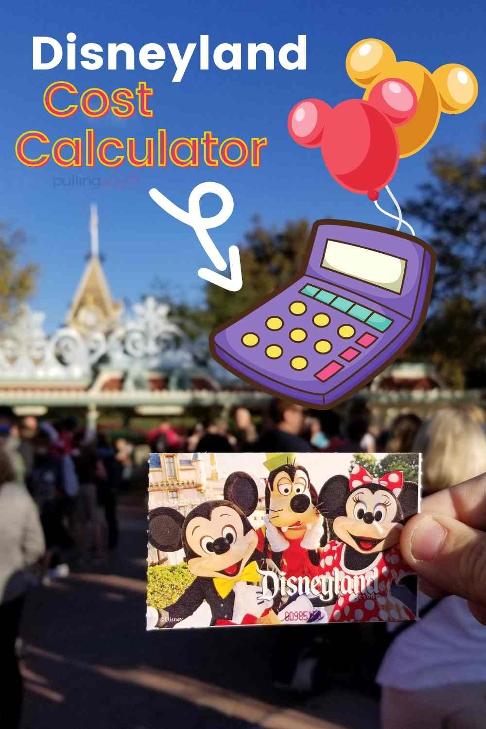 Today we're going to talk about how much will your Disneyland vacation cost? -- This Disneyland Trip Calculator is set to help you make it magical. This Free Trip Calculator can help you plan ANY trip (but also has some great Disneyland budget travel tips). via @pullingcurls