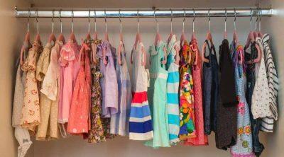 baby closet on hangers