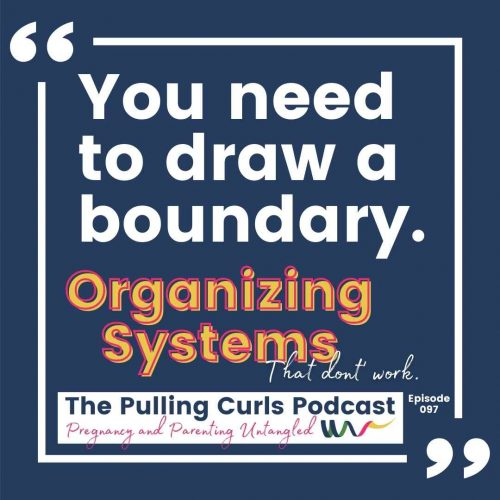 you need to draw a boundary