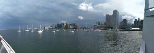 Boston bay cruise