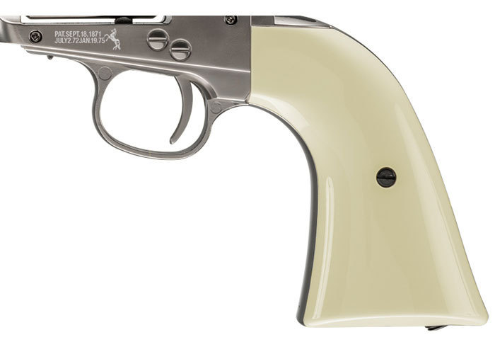 Umarex Saa 45 Colt Peacemaker 177 Pellet Nickel Finish