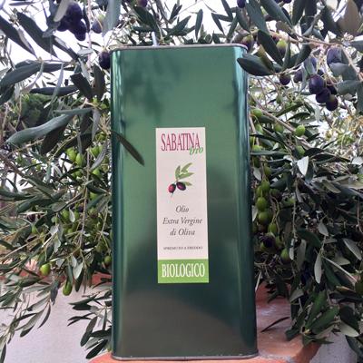 olio nuovo bio 2020 - Sabatina - pulmino contadino