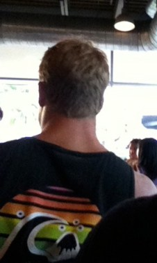 Is this the back of Scott Caan's Head?
