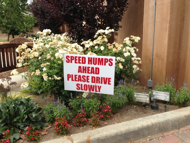 speed-humps