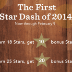 January 2014 Star Dash
