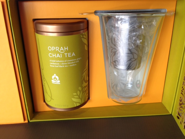 Oprah Chai Tea Set Inside