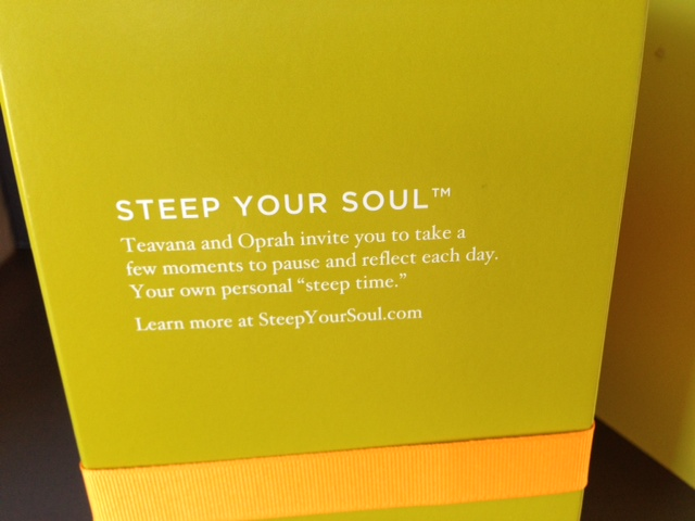 Steep your soul