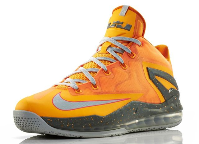 LeBron 11 Low Atomic Mango