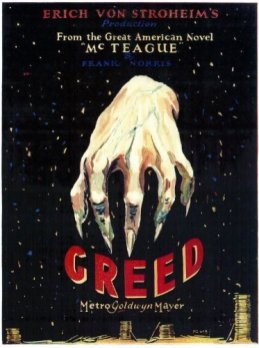 Creed (Rapacità, 1924) dir. Erich von Stroheim