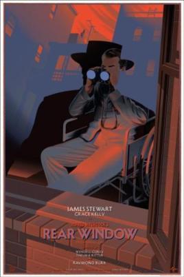 """REAR WINDOW"" Poster Artist: Laurent Durieux"