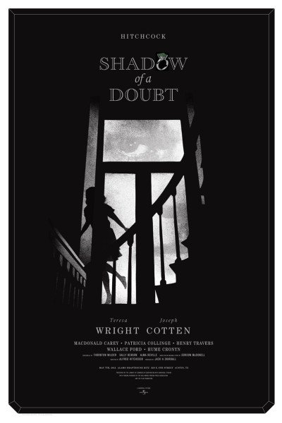 """""""SHADOW OF A DOUBT"""" Poster Artist: Alan Hynes"""