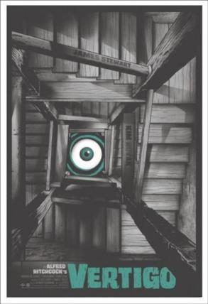 """VERTIGO"" Poster Artist: Gary Pullin"