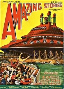 PULP MAGAZINE COVER, AMAZING STORIES NOVEMBER 1926