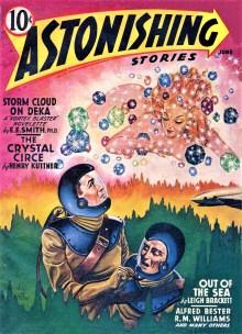 PULP MAGAZINE COVER, ASTONISHING STORIES JUNE 1942