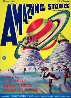 AMAZING STORIES COVER - APRIL, 1926