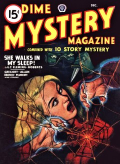 15 DIME MYSTERY COMBINED WITH 10 STORY MYSTERY - December, 1947