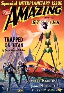 AMAZING STORIES - June, 1940
