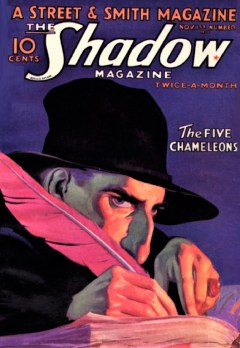 THE SHADOW - November 1st, 1932