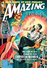 AMAZING STORIES COVER - May, 1952