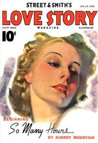 LOVE STORY MAGAZINE - January 29th, 1938 - FREE READ