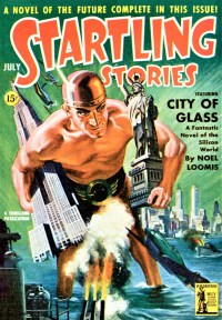 STARTLING STORIES COVER - July, 1942
