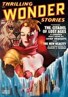 THRILLING WONDER STORIES COVER - December, 1950