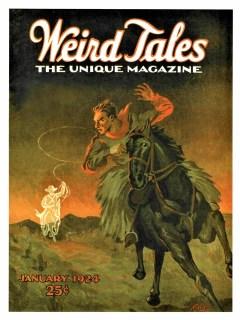 WEIRD TALES - January, 1924