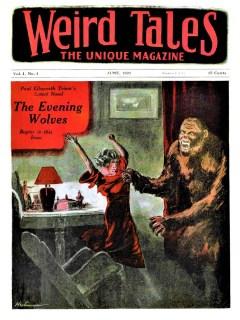 WEIRD TALES - June, 1923