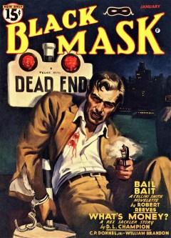 BLACK MASK - January, 1942
