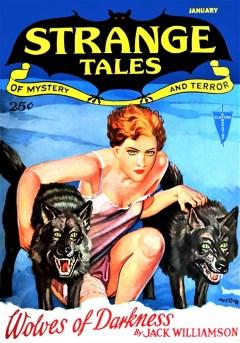 STRANGE TALES OF MYSTERY AND TERROR - January, 1932