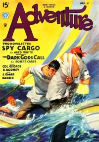 ADVENTURE COVER - July 1935
