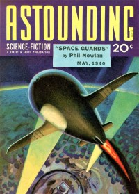 ASTOUNDING SCIENCE FICTION COVER - May 1940