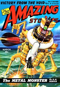 AMAZING STORIES COVER - March 1943