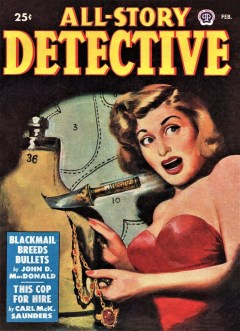 ALL-STORY DETECTIVE - Number 1, February 1949