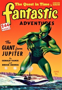 FANTASTIC ADVENTURES COVER - June 1942