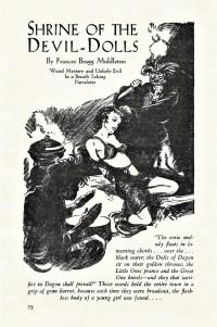 READ STORIES - SHRINE OF THE DEVIL-DOLLS