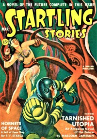 STARTLING STORIES COVER - March 1942