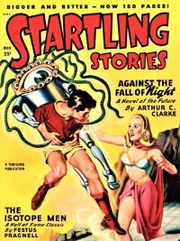 STARTLING STORIES COVER - November 1948