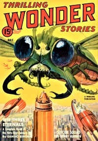 THRILLING WONDER STORIES COVER - December 1939