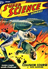 SUPER SCIENCE STORIES - January 1941 cover