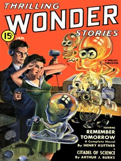THRILLING WONDER STORIES - January 1941