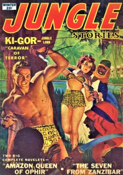 JUNGLE STORIES - Winter 1952