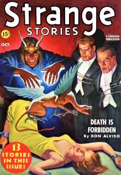 STRANGE STORIES - October 1939