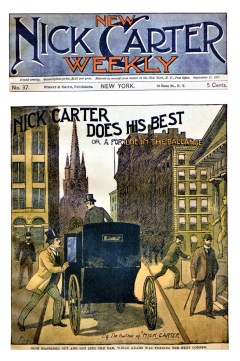 NEW NICK CARTER WEEKLY - September 11, 1897