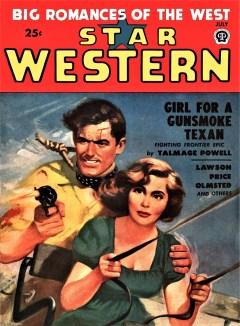 read STAR WESTERN - July 1949